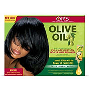 Organic Root Stimulator Built-In Protection Normal Olive Oil No-Lye Relaxer