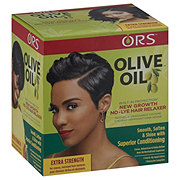 Organic Root Stimulator Olive Oil New Growth Hair Relaxer, Extra Strength