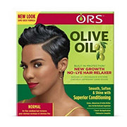 Organic Root Stimulator Olive Oil New Growth Hair Relaxer, Normal