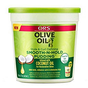 Organic Root Stimulator Smooth-N-Hold Pudding Olive Oil Moisturizing Gel
