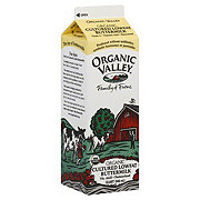 Organic Valley Buttermilk, Cultured, Lowfat