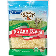 Organic Valley Finely Shredded Italian Blend Cheese