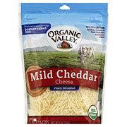 Organic Valley Finely Shredded Mild Cheddar Cheese