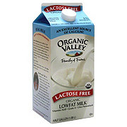 ORGANIC VALLEY Lactose Free Organic Low Fat Milk