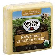 Organic Valley Organic Raw Sharp Cheddar Cheese