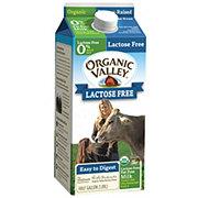 Organic Valley Organic Valley Skim Milk Lactose Free .5gal
