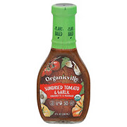 Organicville Organic Sun Dried Tomato and Garlic Vinaigrette