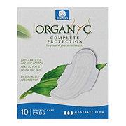 Organyc Moderate Flow Sensitive Skins Pads