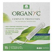 Organyc Tampon Compact Super