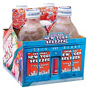 Original New York Seltzer Cola and Berry Soda 10 oz Bottles