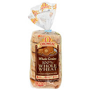 Oroweat Whole Grain 100% Whole Wheat English Muffins