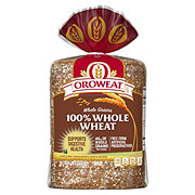 Oroweat Whole Grains 100% Whole Wheat Bread