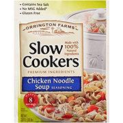Orrington Farms Slow Cookers Chicken Noodle Stew Seasoning