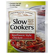 Orrington Farms Slow Cookers Southwest Style Chicken Seasoning