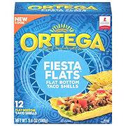 Ortega Fiesta Flats Flat Bottom Taco Shells