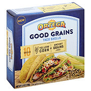 Ortega Good Grains Yellow Corn With Ancient Grains Taco Shell