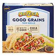 Ortega White Corn & Chia Seeds Taco Shells