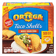 Ortega Whole Grain Corn Taco Shells