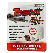 Ortho Home Defense Max Disposable Kill And Contain Mouse Trap