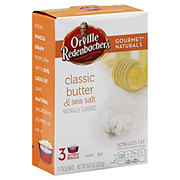 Orville Redenbacher's Gourmet Naturals Classic Butter and Sea Salt Gourmet Popping Corn