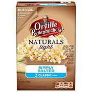 Orville Redenbacher's Gourmet Naturals Simply Salted Gourmet Popping Corn