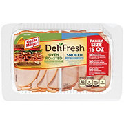 Oscar Mayer Deli Fresh Smoked Ham & Oven Roasted Turkey
