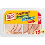 Oscar Mayer Deli Fresh Smoked Ham & Oven Roasted Turkey