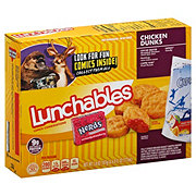 Oscar Mayer Lunchables Chicken Dunks Lunch Combinations