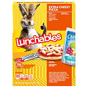Oscar Mayer Lunchables Extra Cheesy Pizza Fun Pack Lunch Combinations