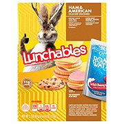 Oscar Mayer Lunchables Ham and American Cracker Stackers Lunch Combinations
