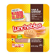 Oscar Mayer Lunchables Ham and Cheddar Cracker Stackers Lunch Combinations