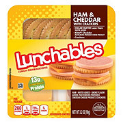 Oscar Mayer Lunchables Ham and Cheddar with Crackers Lunch Combinations