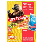 Oscar Mayer Lunchables Mini Hot Dogs Lunch Combinations