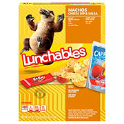 Oscar Mayer Lunchables Nachos Cheese Dip & Salsa