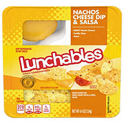 Oscar Mayer Lunchables Nachos Cheese Dip and Salsa