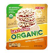 Oscar Mayer Lunchables Organic Extra Cheesy Pizza
