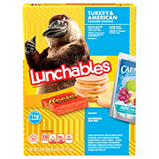 Oscar Mayer Lunchables Turkey & American Cracker Stackers Lunch Combinations