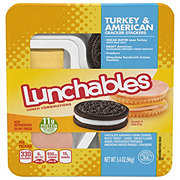 Oscar Mayer Lunchables Turkey and American Cracker Stackers Lunch Combinations