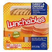 Oscar Mayer Lunchables Turkey and Cheddar with Crackers Lunch Combinations