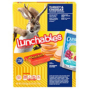 Oscar Mayer Lunchables Turkey & Cheddar Cracker Stackers Fun Pack Lunch Combinations