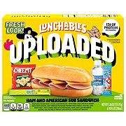 Oscar Mayer Lunchables Uploaded 6-Inch Ham & American Sub Sandwich Lunch Combinations