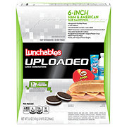 Oscar Mayer Lunchables Uploaded 6-Inch Ham & American Sub Sandwich