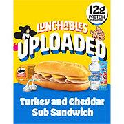 Oscar Mayer Lunchables Uploaded 6-Inch Turkey & Cheddar Sub Sandwich Lunch Combinations
