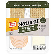Oscar Mayer Natural Turkey Breast with Cheddar
