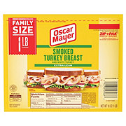 Oscar Mayer Smoked Turkey Breast Family Size