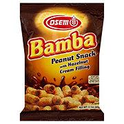 Osem Bamba Peanut Snack with Hazelnut Cream Filling