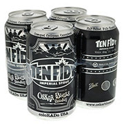 Oskar Blues Ten Fidy Imperial Stout Beer 12 oz  Cans
