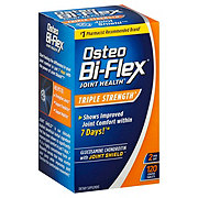 Osteo Bi-Flex Glucosamine Chondroitin MSM with 5-Loxin Advanced Triple Strength Coated Caplets