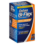 Osteo Bi-Flex Glucosamine Chondroitin with 5-Loxin with MSM Triple Strength Coated Caplets
