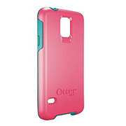 Otterbox Symmetry Series Teal Rose Case for Galaxy S5